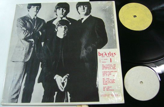 Beatles Sweet Apple Trax dif cov