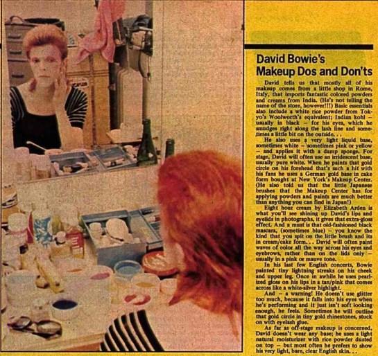 Bowie Make UP DaD