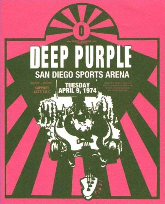 Deep Purple San Diegor 74
