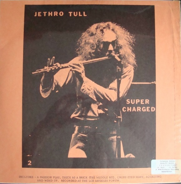2949 Jethro Tull Supercharged Again The 1973 American