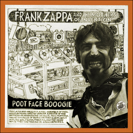 1909 Frank Zappa And The Mothers Of Invention Poot Face
