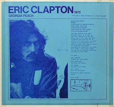 Eric Clapton Live 1976 The Amazing Kornyfone Label