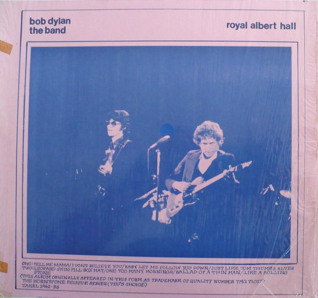 1962 Bob Dylan The Band Royal Albert Hall The Amazing