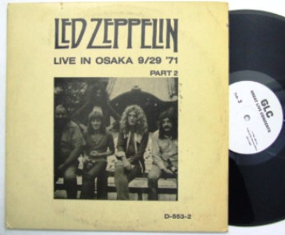 Led Zep Live In Osaka