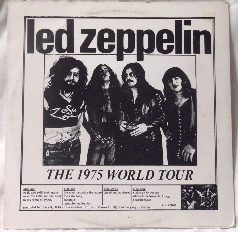 2960 led zeppelin the 1975 world tour legerdomain the amazing kornyfone label. Black Bedroom Furniture Sets. Home Design Ideas