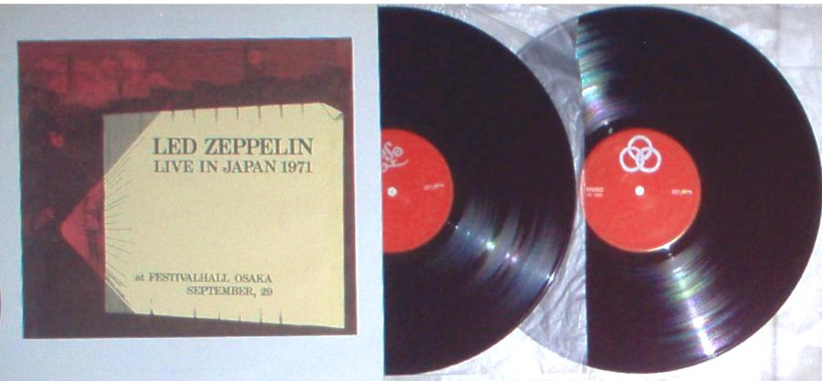 1966-RS: led zeppelin a cellarful of noise – LIVE IN JAPAN | THE