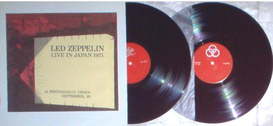 Led Zeppelin Live In Japan 1971 OG-799