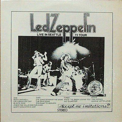 2964: LED ZEPPELIN  LIVE IN SEATTLE 1973 (1/4)