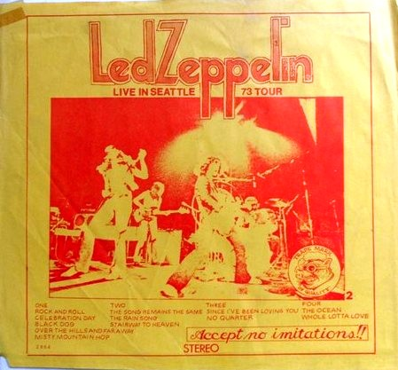 2964 Led Zeppelin Live In Seattle 1973 The Amazing