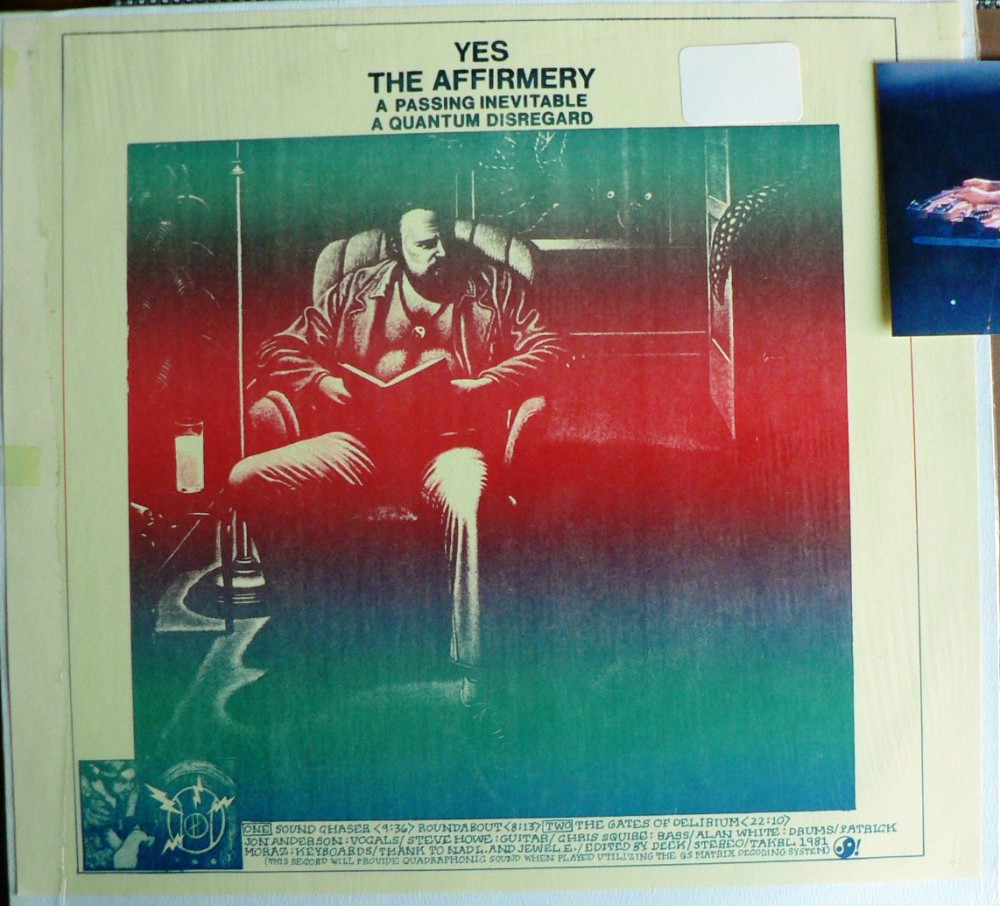 1981: YES  'THE AFFIRMERY' :Beacon Island (1/5)