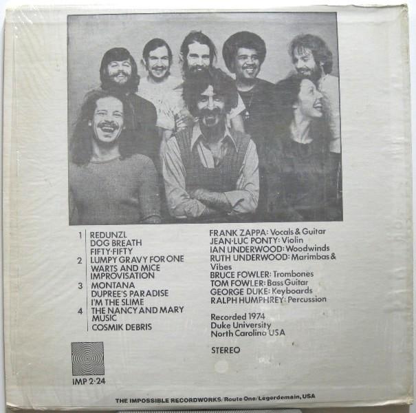 Zappa F DP b
