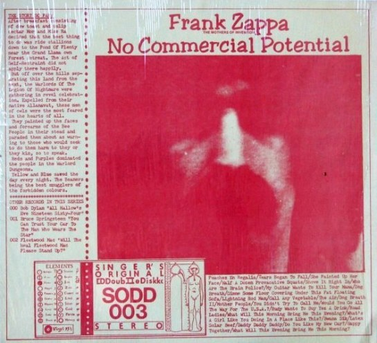 Sodd 003 Frank Zappa No Commercial Potential The