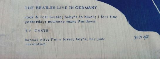 Beatles CBM 3571 detail