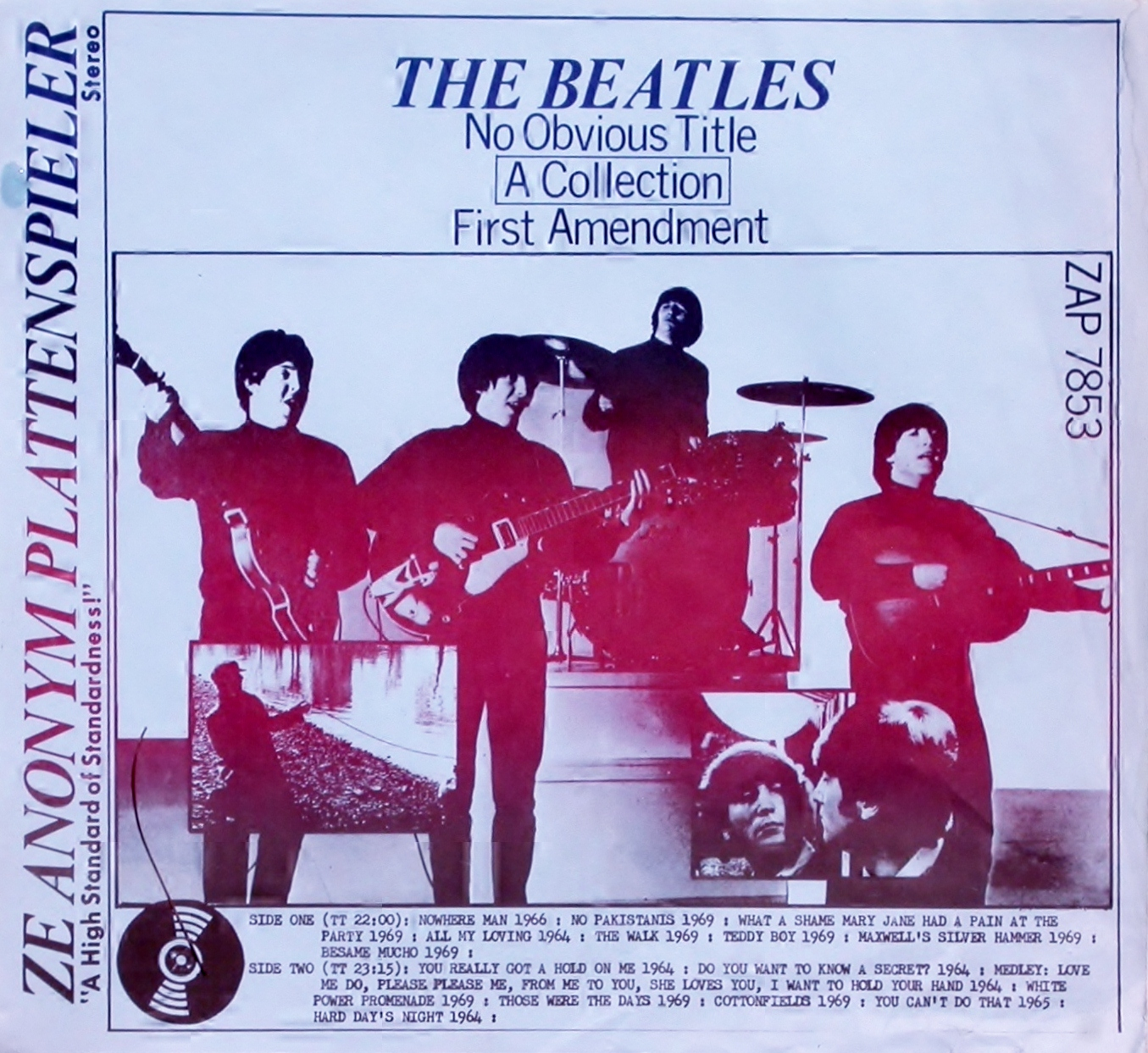 The Beatles No Obvious Title The Amazing Kornyfone Label