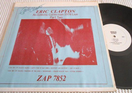 Clapton eclectic Coll autogr