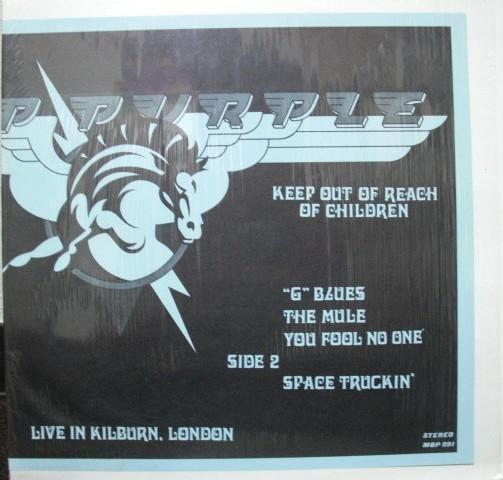 Deep Purple Keep Out Of Reach of Children