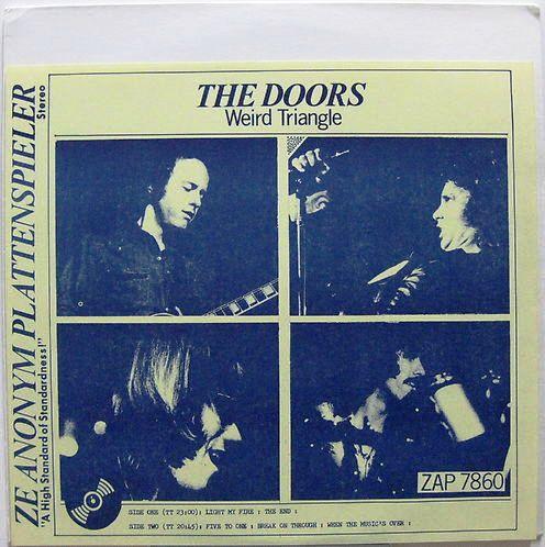 Zap 7859 The Doors Weird Triangle The Lizard King