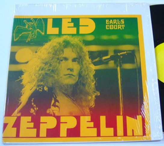 Led Zep Earls Court col