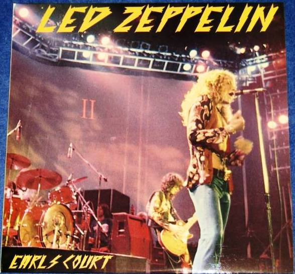 Led Zeppelin On Stage In Europe 1975 Earls Court Lzl 19775