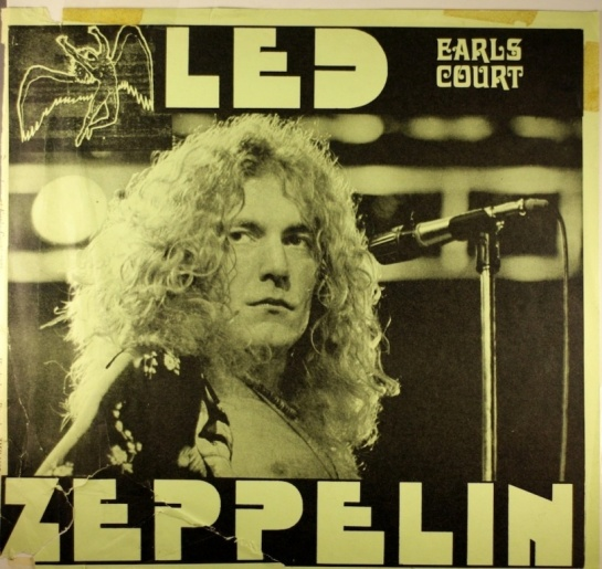 Led Zep Earls Court