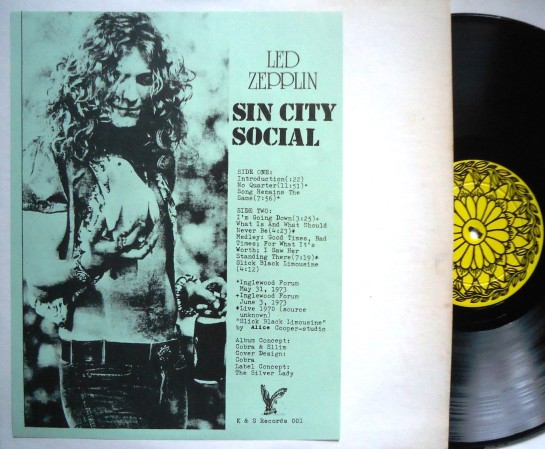 Led Zep Sin City Social