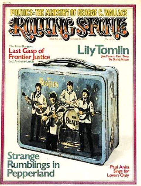 RS Beatles Lunch box cover 74