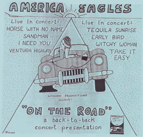 America  Eagles On The Road