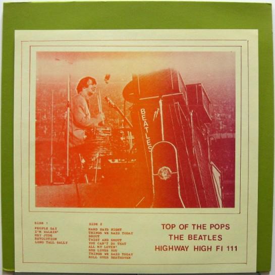 Beatles Top OT Pops