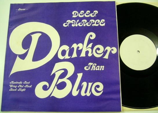 Deep Purple Darker Than Blue