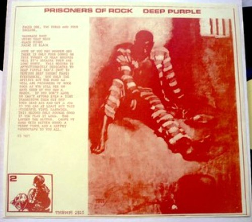 Deep Purple Prisoners of Rock