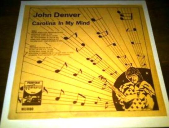 Denver John Carolina In My Mind
