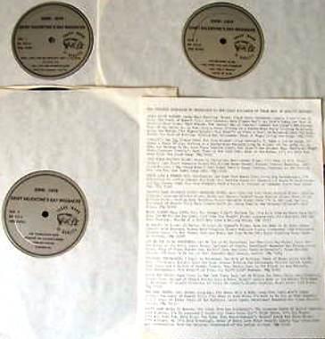 Dylan SVDM LPs