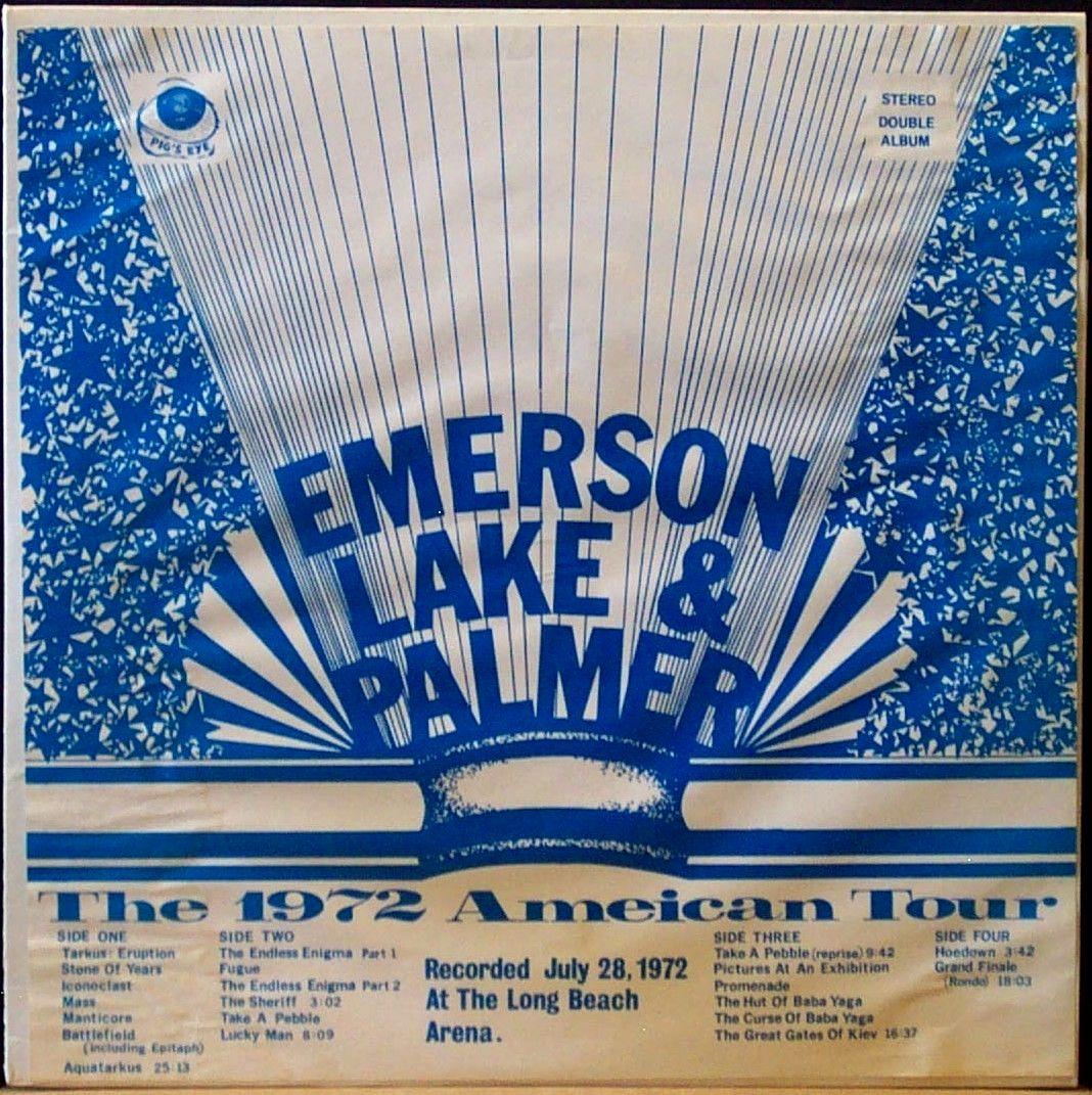 Lake Amp Palmer Live 1972 Long Beach The Amazing Kornyfone