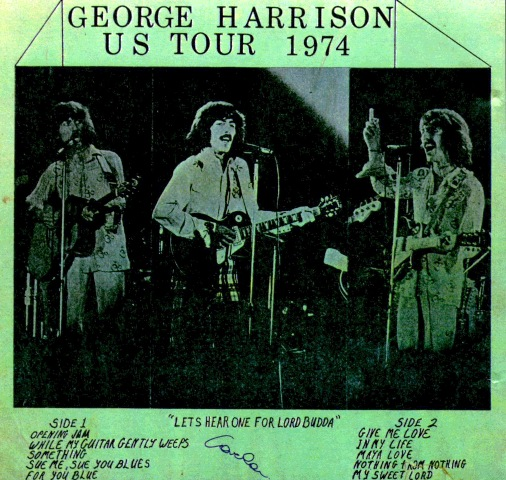 Harrison US Tour 74