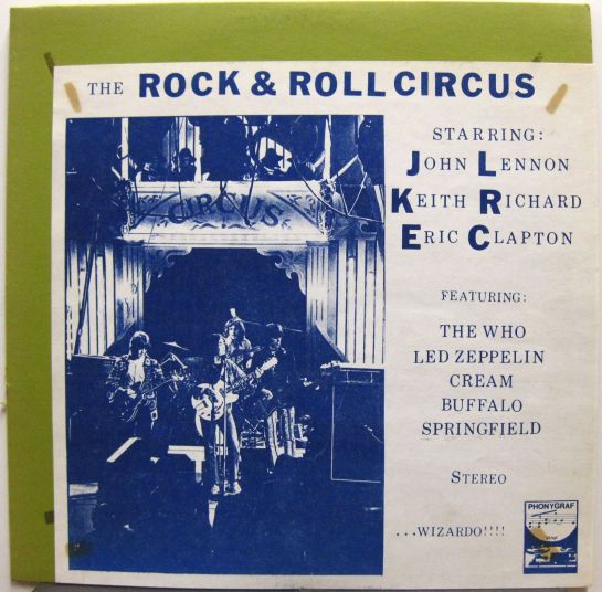 R n R Circus Phonyg