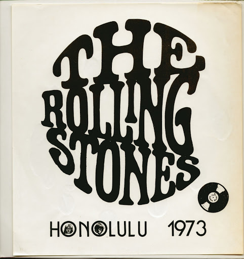 Riolling Stones  Honolulu 1973 black