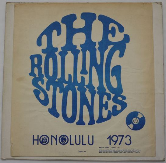 Rolling Stones Honolulu 1973