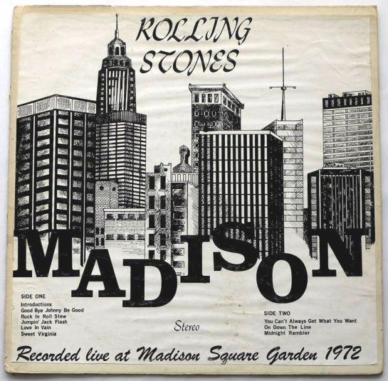 Rolling Stones Madison 2