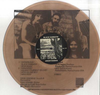 Black Sabbath UO repress