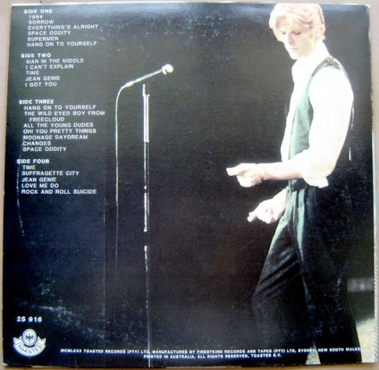 Bowie TBGO b