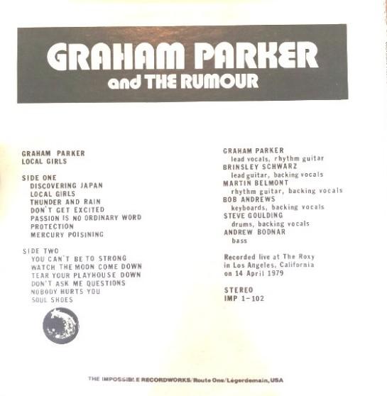 Parker Graham Local Girls b