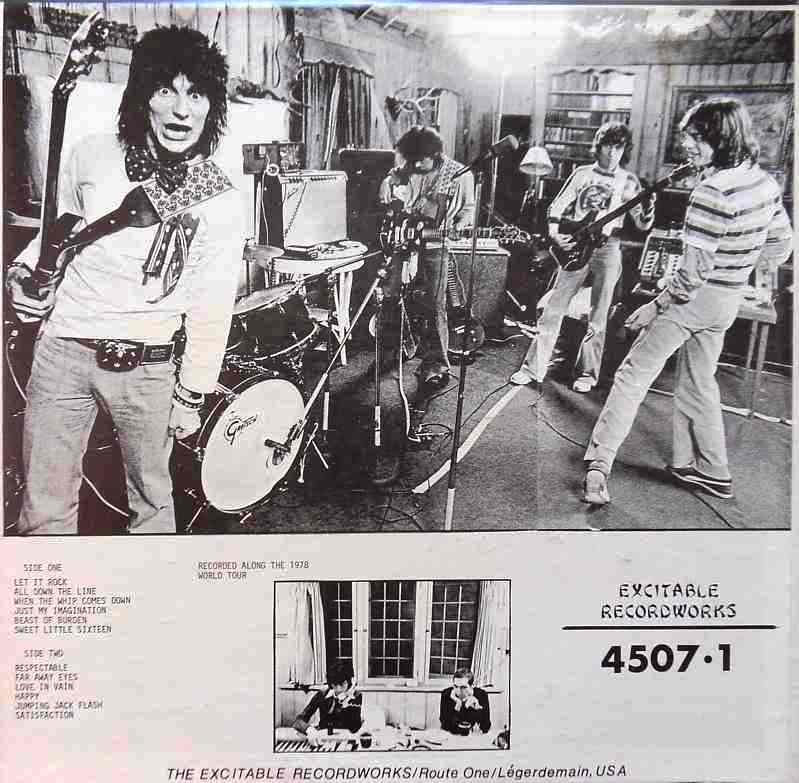 Excitable Recordworks Bootleg Label The Amazing