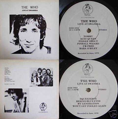 The Who live At Swansea