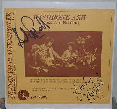 Wishbone Ash Ashes are Burning