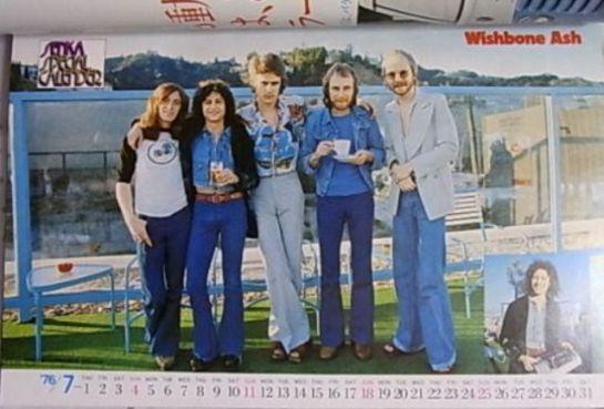 Wishbone Ash J mag 76