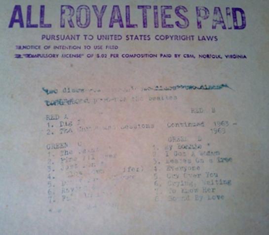 Beatles DPMB stamp