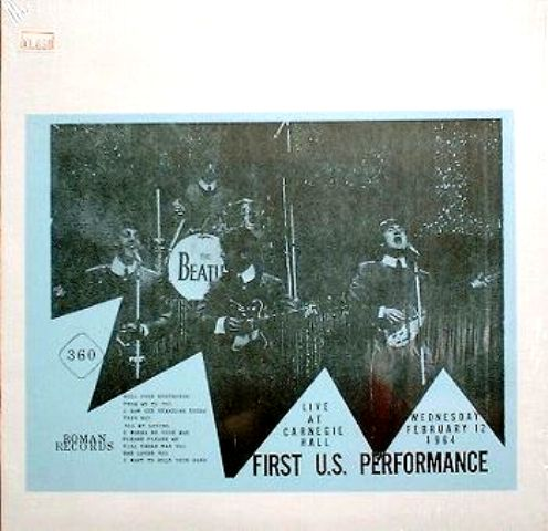 Beatles First U.S. Performance