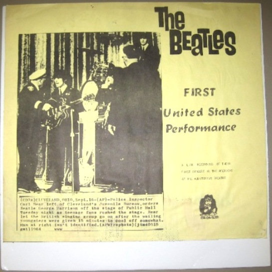 Beatles First US Performance