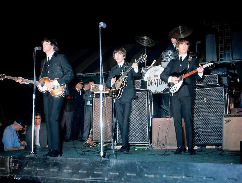 Image result for beatles larry kane colour photo