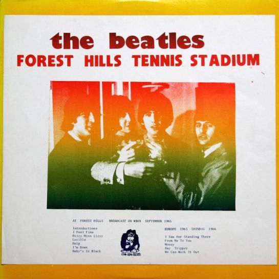 Beatles Forest Hills Tennis Stadium